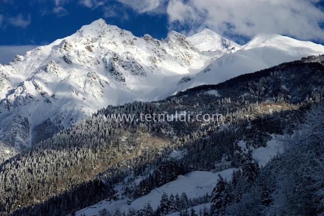 Новый горнолыжный курорт Тетнулди в Сванетии. Грузия