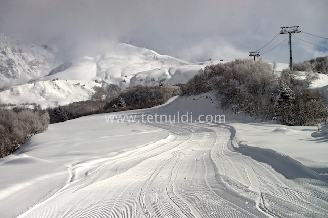 Tetnuldi Ski Resort will be open February 21, 2016
